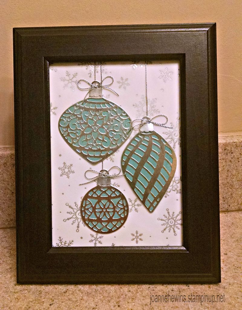Embellished ornaments frame #3