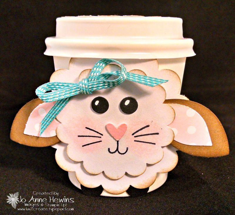 Lamb coffee cup