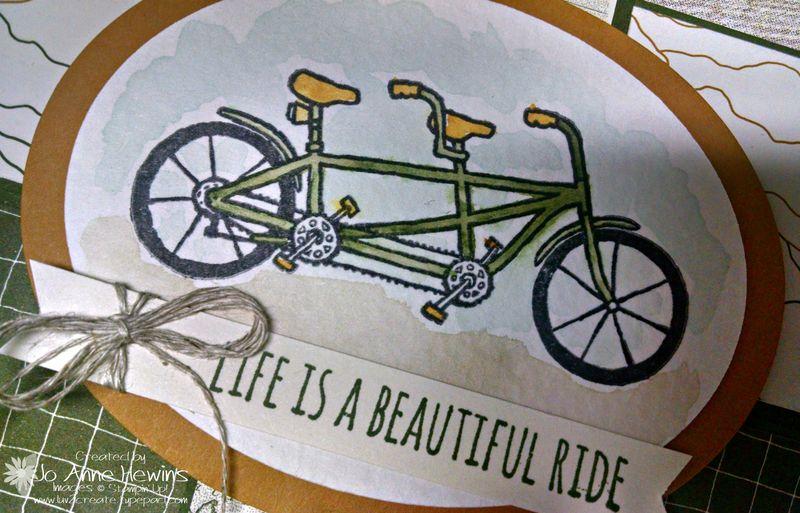 Petal pusher close up of bike