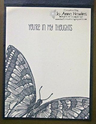 Butterfly gray inside