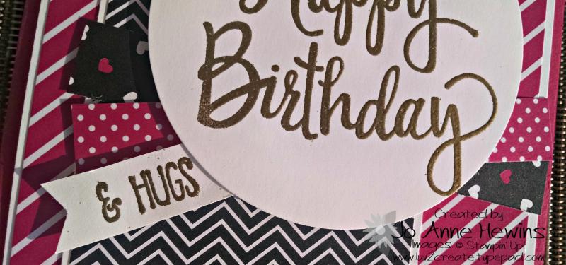 Stylized birthday close up