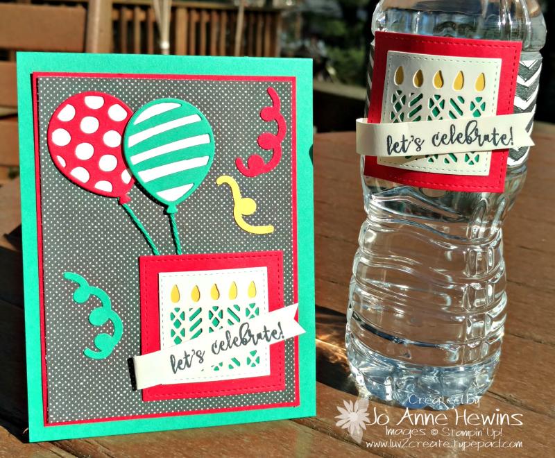B water & card