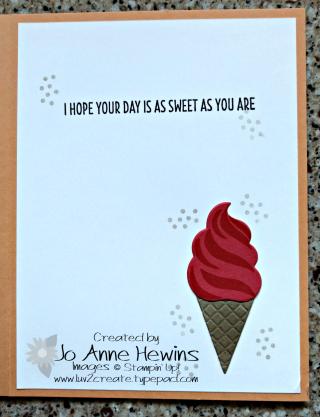 Ice cream inside