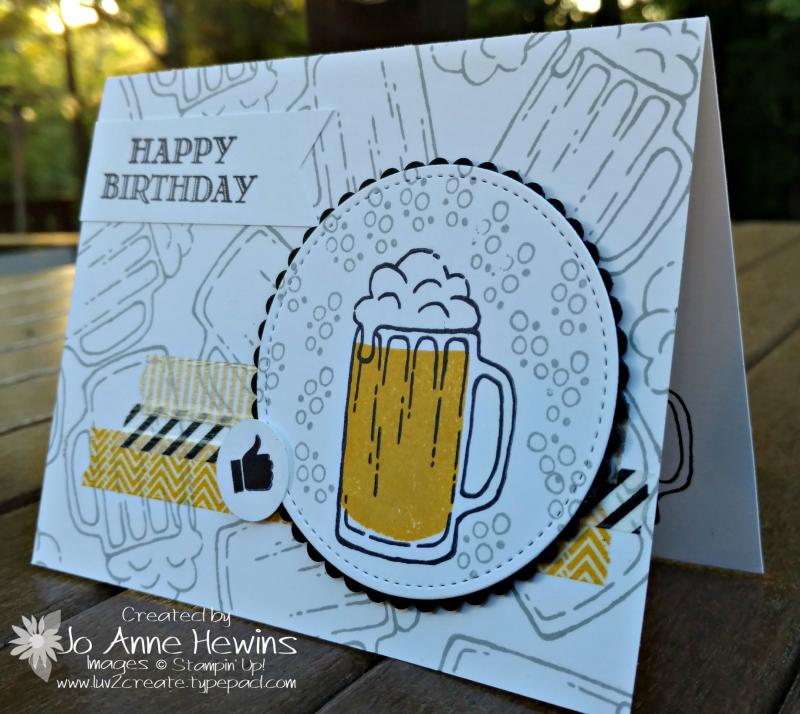 Mixed Drinks birthday card