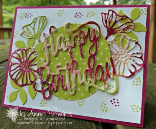 Martha's birthday card