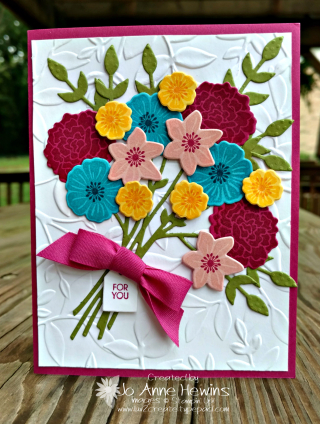 Beautiful Bouquet for the NC Demo Blog Hop