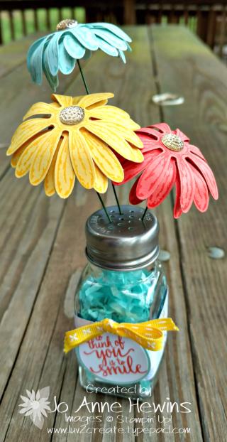 Salt Shaker Daisy Vase