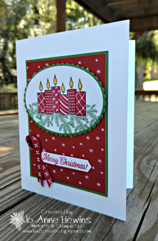 Merry Patterns card