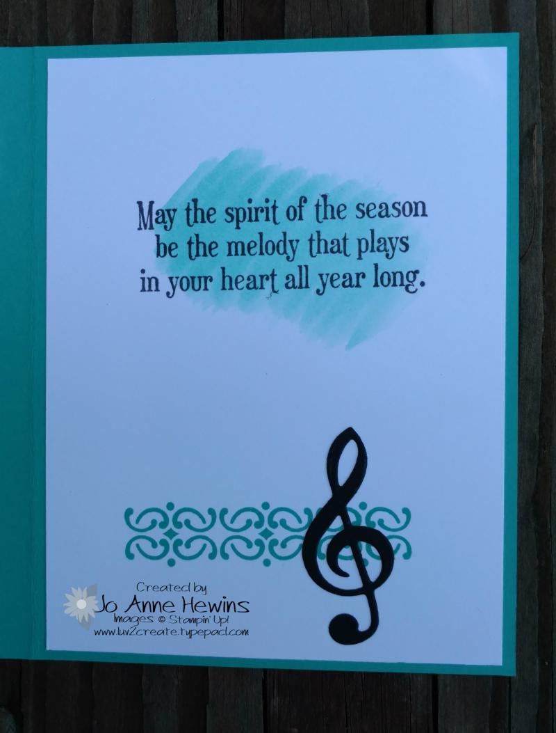 Musical Seasons inside