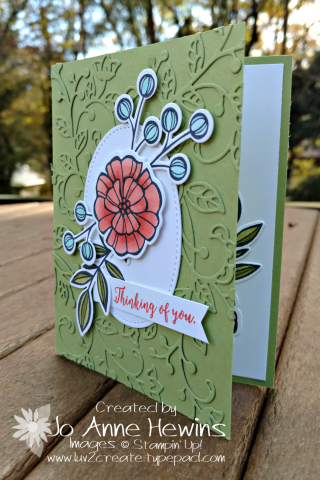 Flourish Thinlits background card