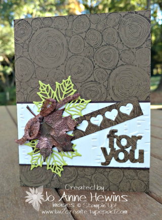 Tree Rings Fall Card