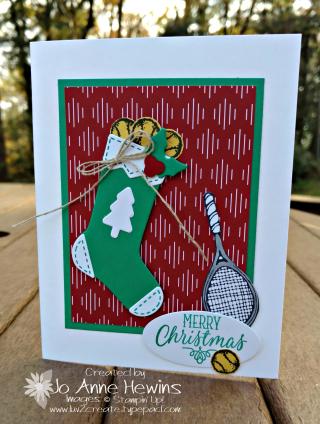 Tennis Christmas card 2017