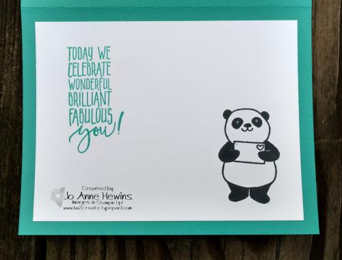 Party Pandas birthday inside
