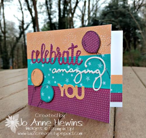 CCMC #491 Celebrate You card