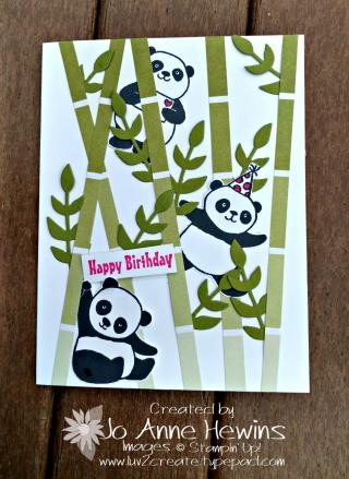 Bamboo Party Pandas