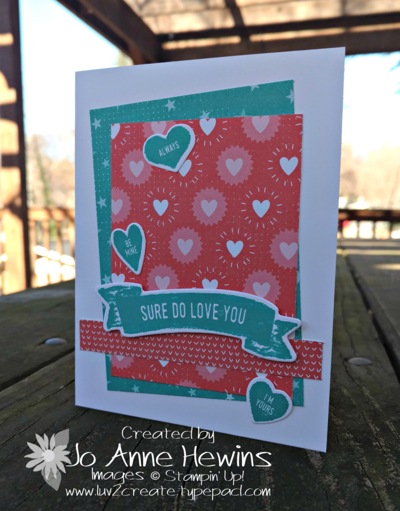CCMC #494 Sure Do Love You card