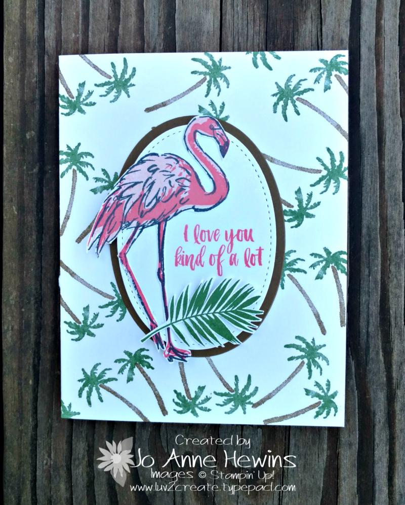 Fabulous Flamingo with Waterfront
