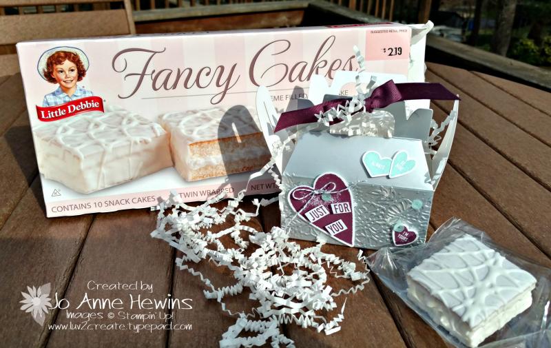 Silver Mini Gable Box Valentine
