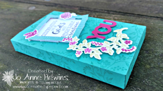 Lots to Love Box decorated with Hold on to Hope bundle