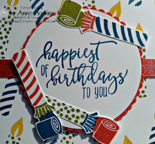 Picture Perfect Birthday close up Luv 2 Create