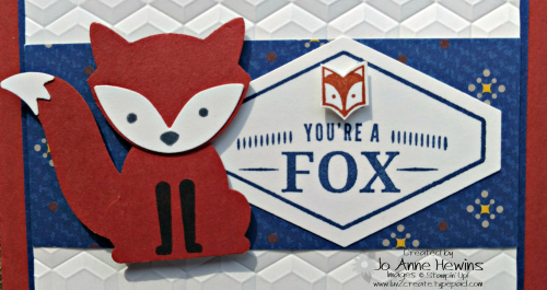 Truly Tailored and Foxy Friends up close