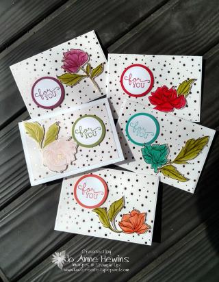 Springtime Foils using Blends Jo Anne Hewins