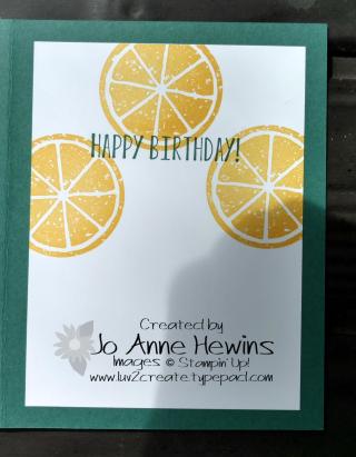 Lemon Zest swap by Jo Anne Hewins inside