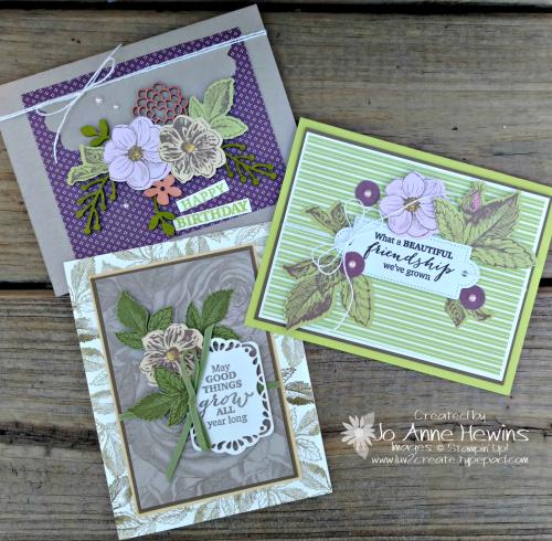 March Paper Pumpkin alternate projects by Jo Anne Hewins
