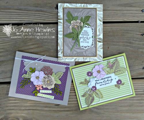 March Paper Pumpkin kit alternate projects Jo Anne Hewins