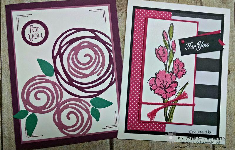May NC blog hop 2 cards