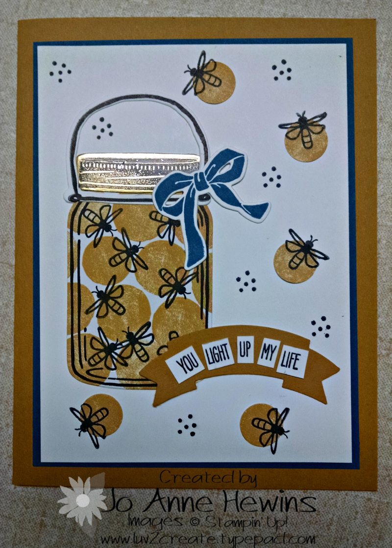 June blog hop bug card
