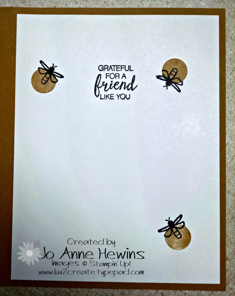 June blog hop inside bug card