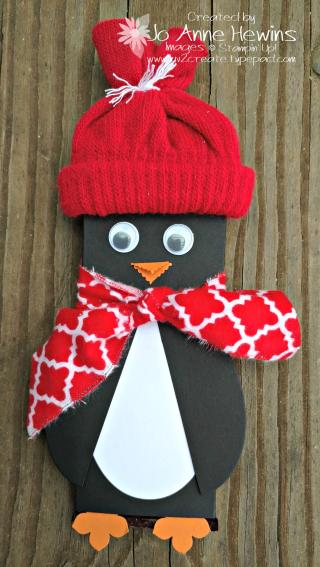 Penguin Hershey bar