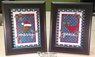 Red bird frame 3