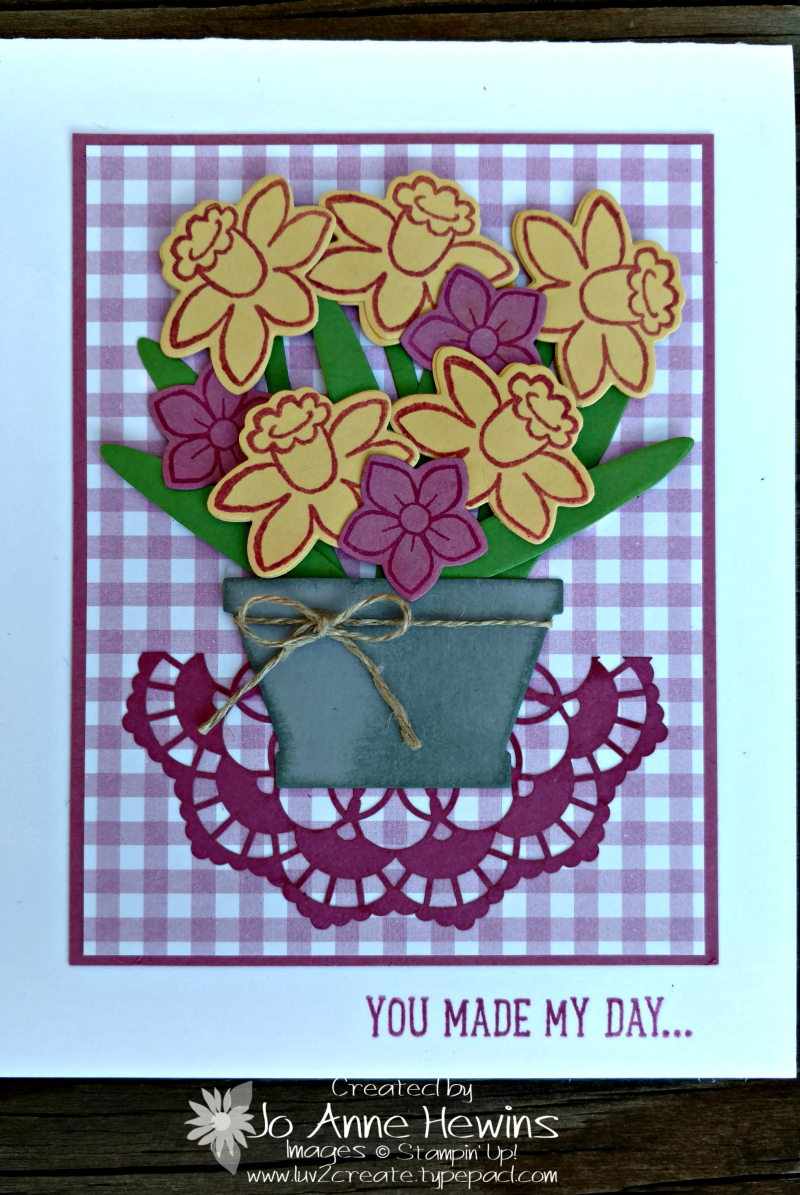 Basket Bunch Flowers