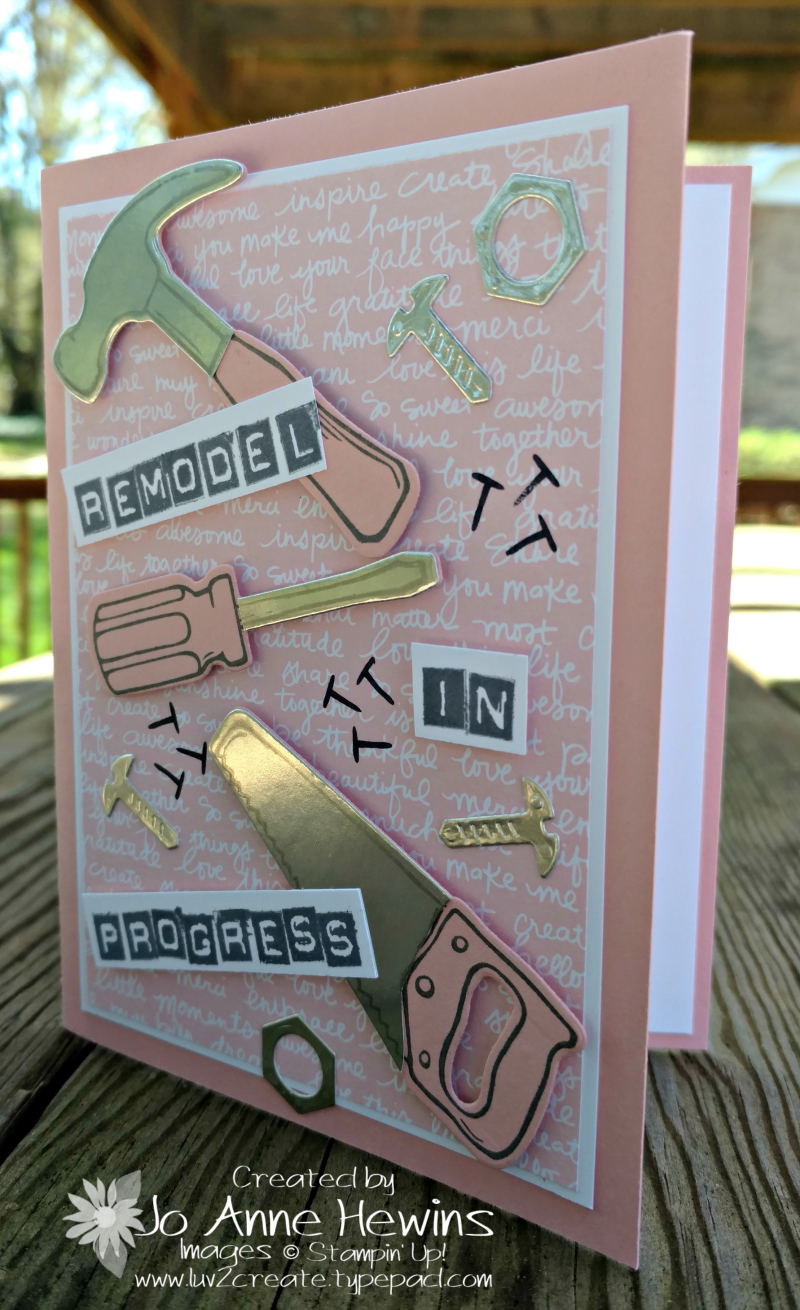 Nailed it card for Melanie