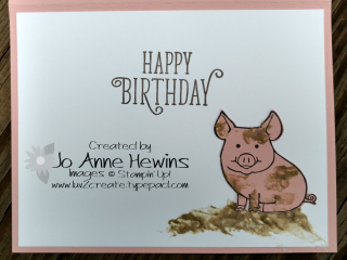 This Little Piggy card inside CCMC#468
