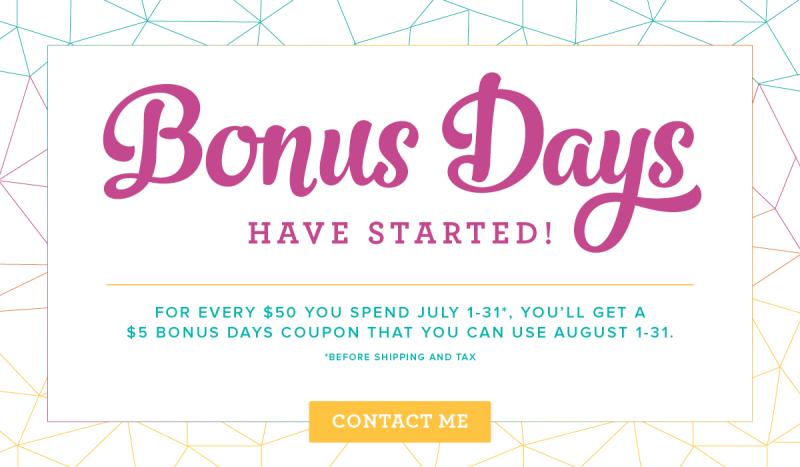 Bonus Days 1