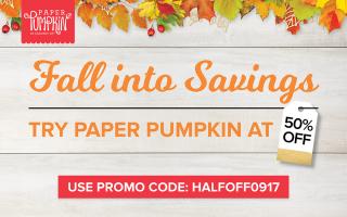 Paper Pumpkin HALFOFF0917 2