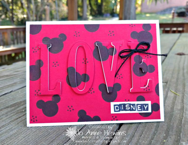 Love Disney Eclipse card