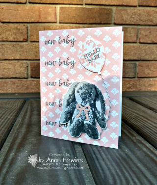 Sweet Little Something Baby card by Luv 2 Create