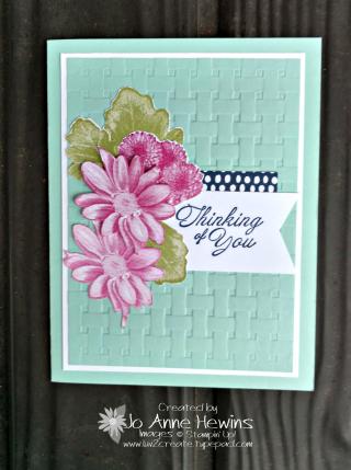 Heartfelt Blooms CASE from brochure by Jo Anne Hewins