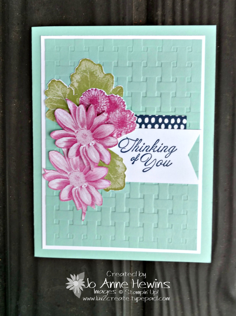 Heartfelt Blooms CASE from brochure by Jo Anne Hewins