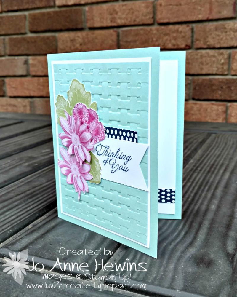 Heartfelt Blooms CASE by Jo Anne Hewins