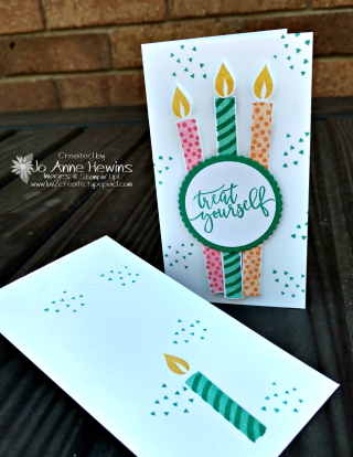 Picture Perfect Birthday long candles  Luv 2 Create