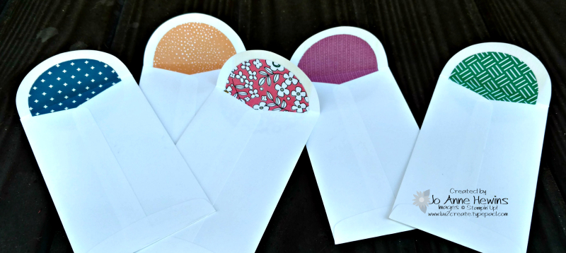 Picture Perfect Birthday envelopes  Jo Anne Hewins