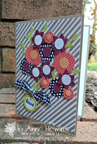 Tutti Frutti flowers with the Bouquet Bunch Framelits by Jo Anne Hewins