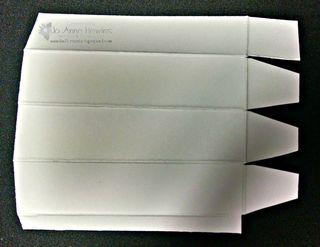 Balm holder, box cut