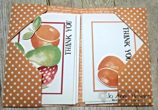 Fresh Fruit in Folder