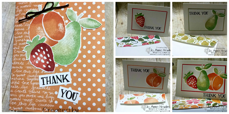Fresh Fruit collage